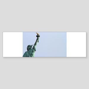 New York Statue of Liberty-Pro Ph Sticker (Bumper)
