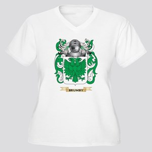 Brumby Coat of Arms Plus Size T-Shirt