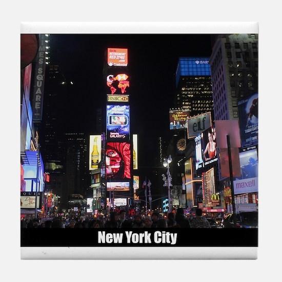 New York Times Square-Pro Photo Tile Coaster