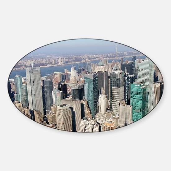 Stunning! New York - Pro photo Sticker (Oval)