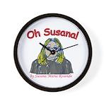Oh Susana! Wall Clock