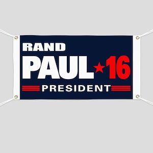 Rand Paul - President Banner