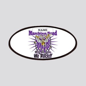 Marching Band Rocks(Purple) Patches