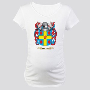 Bryant-2 Coat of Arms Maternity T-Shirt