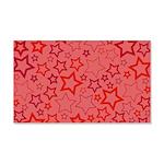 Red Stars Wall Sticker
