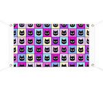 Pastel Rainbow Cat Pattern Banner