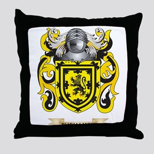 Buchanan Coat of Arms Throw Pillow