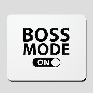 Boss Mode On Mousepad