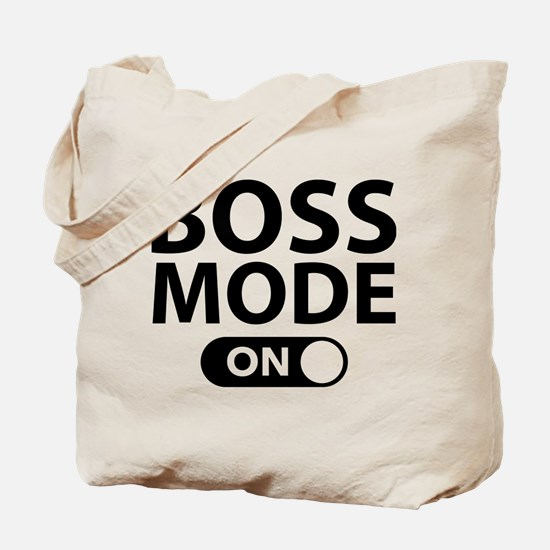 Boss Mode On Tote Bag