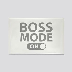 Boss Mode On Rectangle Magnet