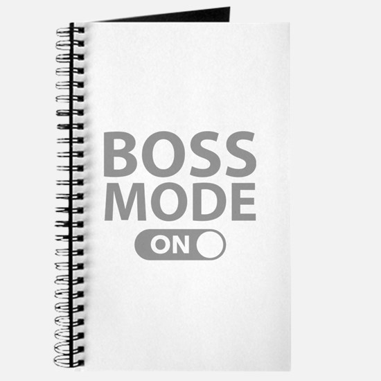 Boss Mode On Journal