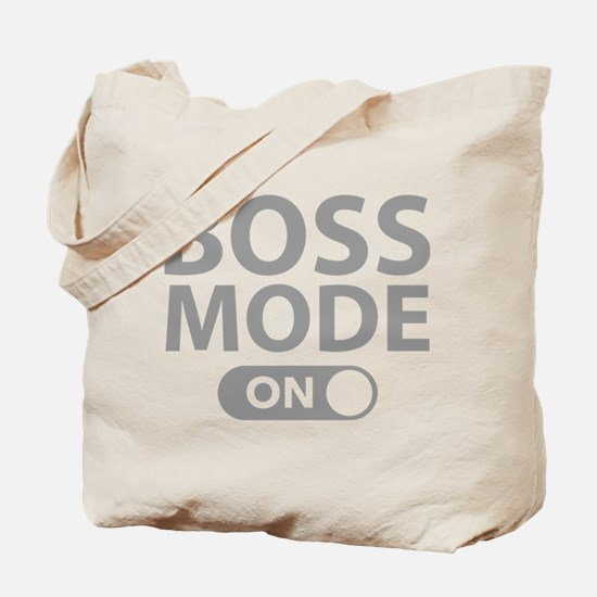 Boss Mode On Tote Bag