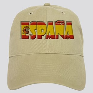 Word Art Flag Espana Cap
