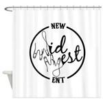 New Midwest Ent Shower Curtain
