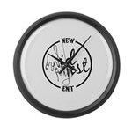 New Midwest Ent Large Wall Clock