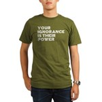 Your Ignorance Is Their Power Organic Men's T-Shir