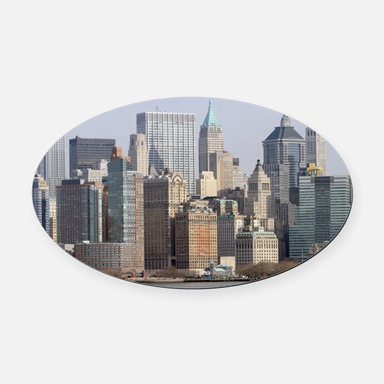 Stunning! New York - Pro photo Oval Car Magnet