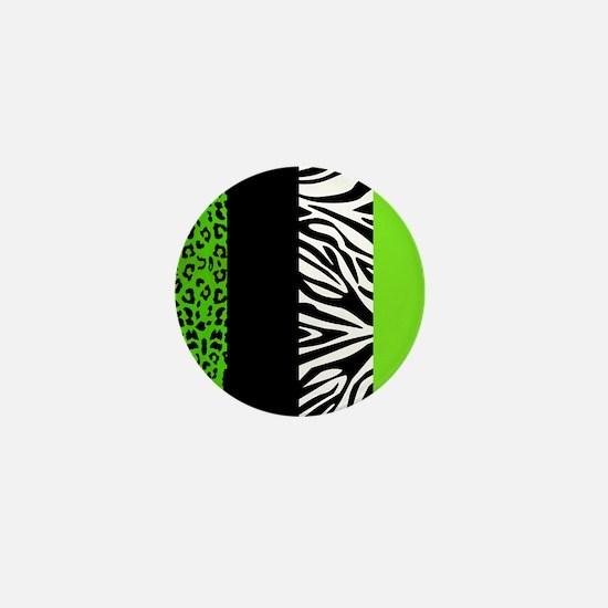 Cute Leopard pattern Mini Button