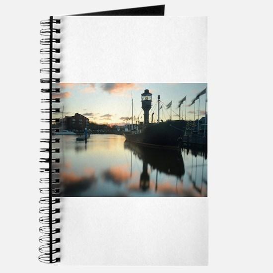 Hull Marina at Sunset Journal