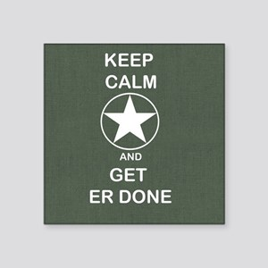 Keep Calm and Get ER Done Sticker