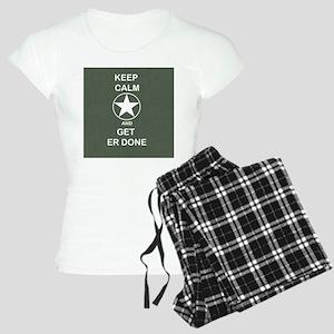 Keep Calm and Get ER Done Pajamas