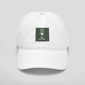 28c3407a925 Keep Calm and Get ER Done Baseball Cap