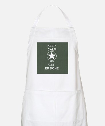 Keep Calm and Get ER Done Apron
