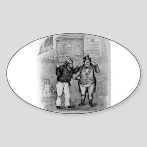 Disloyal British Subject - 1907 Sticker (Oval)