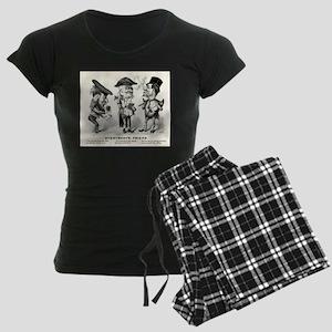 Everybody's friend - 1876 Women's Dark Pajamas