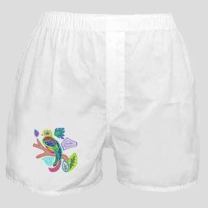 FANCY FEATHERS BIRD Boxer Shorts