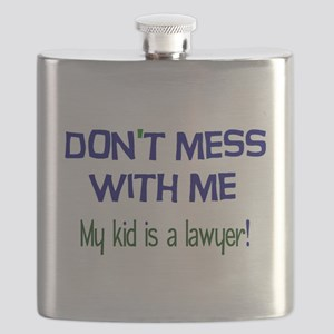 My Kid's a Lawyer Flask