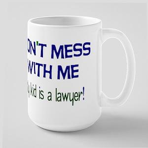 My Kid's a Lawyer Large Mug