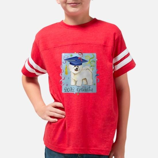 bichon grad Youth Football Shirt
