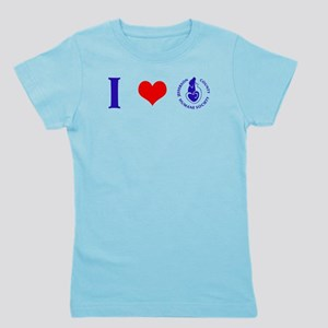 Girl's Tee With Love For HSJC