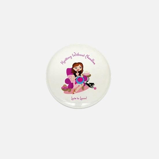 Cute Loom Mini Button