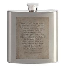 Saint Michael the Archangel Flask