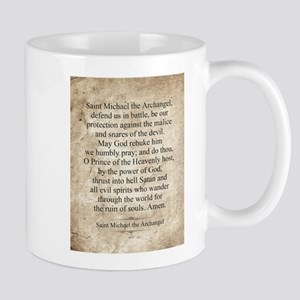 Saint Michael the Archangel Mug