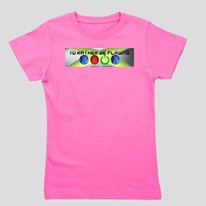 Id Rather Be Playing Xbox Girl's Tee