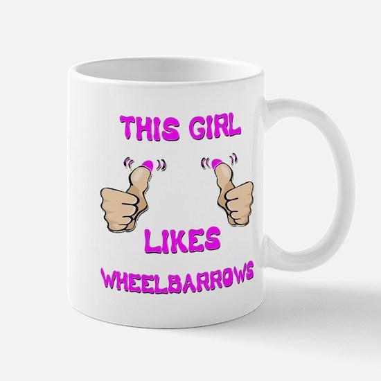 This Girl Likes Wheelbarrows Mug