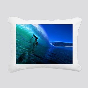 Evening Glass Rectangular Canvas Pillow