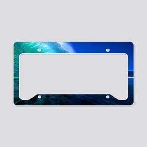 Evening Glass License Plate Holder