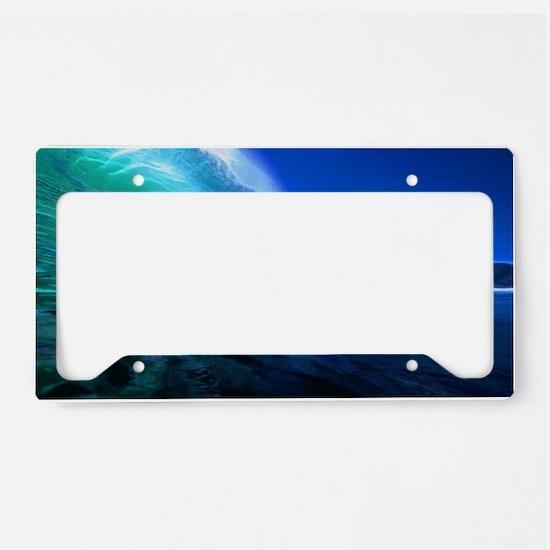 Evening Glass License Plate Holder