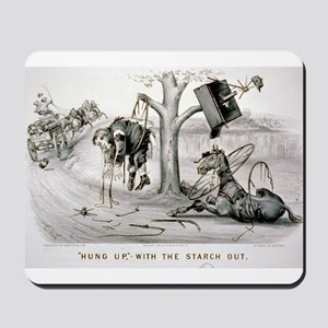 Hung up- with the starch out - 1878 Mousepad