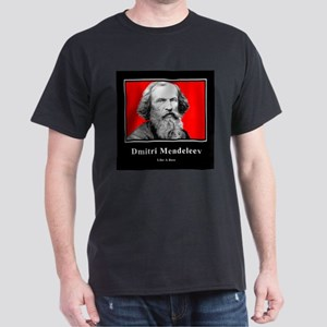 Mendeleev Like A Boss Dark T-Shirt