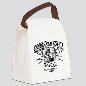 Three Old Sots Tavern Canvas Lunch Bag