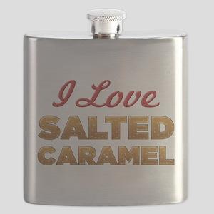 I Love Salted Caramel Flask