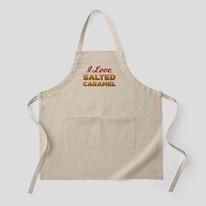I Love Salted Caramel Apron