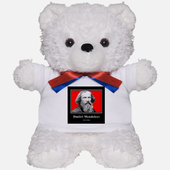 Mendeleev Like A Boss Teddy Bear
