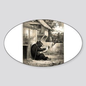 I told you so - 1860 Sticker (Oval)