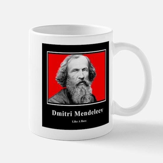Mendeleev Like A Boss Mug